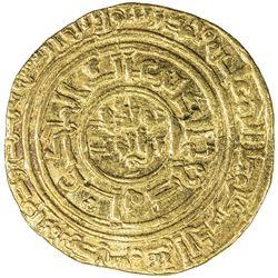 AYYUBID: al-Nasir Yusuf I (Saladin), 1169-1193, AV dinar (4.27g), al-Qahira, AH587. VF