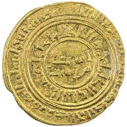 AYYUBID: Abu Bakr I, 1196-1218, AV dinar (4.53g), al-Iskandariya, AH614. VF