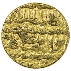 BURJI MAMLUK: Qa'itbay, 1468-1496, AV ashrafi (3.34g), Halab, ND. VF