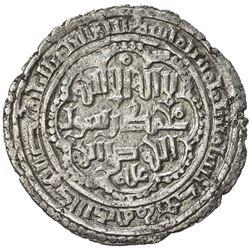 AYYUBID OF YEMEN: al-Nasir Ayyub, 1202-1214, AR dirham (2.16g), 'Adan, AH606. EF