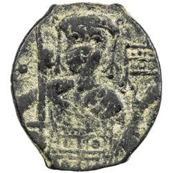SELJUQ OF RUM: Kaykhusraw I, 1192-1196, AE fals (3.00g), NM, ND. VF