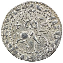 SELJUQ OF RUM: Kaykhusraw II, 1236-1245, AR bilingual tram (2.93g), Sis, AH637. EF-AU