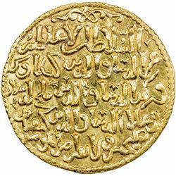 SELJUQ OF RUM: The three brothers, 1249-1259, AV dinar (4.44g), Konya, AH648. BU