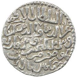 SELJUQ OF RUM: Kayka'us II, 2nd reign, 1257-1261, AR dirham (2.91g), Gumushbazar, AH656. EF