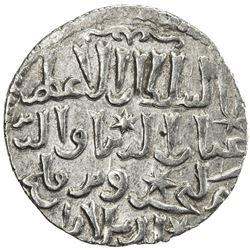 SELJUQ OF RUM: Kaykhusraw III, 1265-1283, AR dirham (3.00g), Kastamonu, AH666. EF