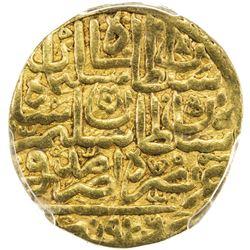 OTTOMAN EMPIRE: Suleyman I, 1520-1566, AV sultani, Amid, AH926 (accession year). PCGS EF45