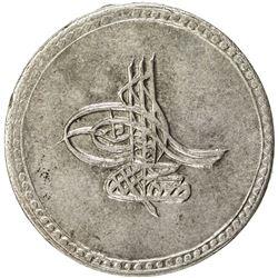 TURKEY: Mustafa III, 1757-1774, AR 20 para (9.28g), Islambul, AH(11)87. AU