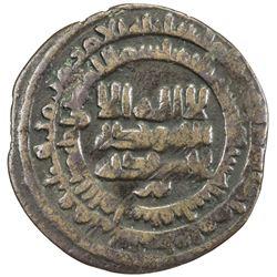 SAMANID: Mansur I, 961-976, AE fals (2.06g), Quba, AH356. VF