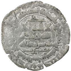 QARAKHANID: Mansur b. Ahmad, 992-999, AR dirham (3.47g), al-Shash, AH382. F-VF