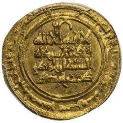 KAKWAYHID: Faramurz, 1041-1051, AV dinar, Isbahan, AH435. PCGS MS64