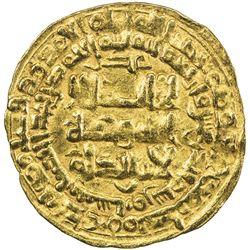 GHAZNAVID: Mahmud, 999-1030, AV dinar (3.15g), Nishapur, AH411. VF-EF