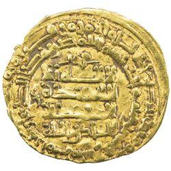 GHAZNAVID: Mahmud, 999-1030, AV dinar (1.72g), Herat, AH389. EF