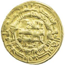GHAZNAVID: Mahmud, 999-1030, AV dinar (3.85g), Herat, AH407. VF