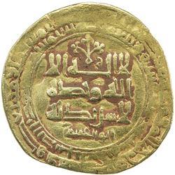 GHAZNAVID: Muhammad, 1030, AV dinar (4.25g), Ghazna, AH419. VF