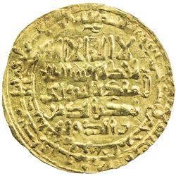 SELJUQ OF KIRMAN: Sultanshah, 1074-1085, AV dinar (3.18g), Bamm, AH471. EF