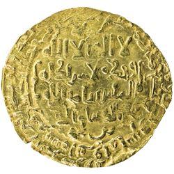 SELJUQ OF KIRMAN: Turanshah I, 1085-1097, AV dinar (2.02g), Bamm, AH482. VF-EF