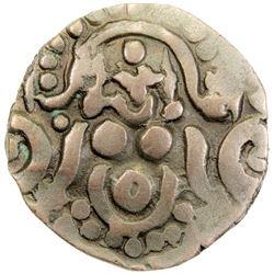 GHORID: Mu'izz al-Din Muhammad, 1171-1206, debased AV dinar (4.48g), NM, ND. VF