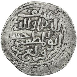 QARLUGHID: al-Hasan Qarlugh, 1224-1249, AR tanka (10.45g), NM, AH(6)33. VF