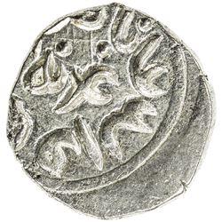 QARLUGHID: Nasir al-Din Muhammad, 1249-1259 AH, BI jital (3.58g), Ghazna, ND. EF-AU