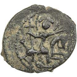 SALDUQIDS: Diya' al-Din Ghazi, 1116-1132, AE fals (4.74g), NM, ND. VF