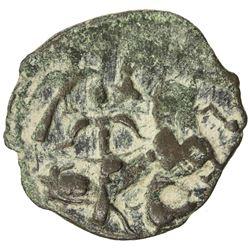 SALDUQIDS: Nasir al-Din Muhammad, 1168-1191, AE fals (4.61g), NM, ND. VF