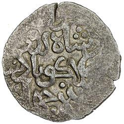 SALGHURID: Abu Bakr, 1231-1260, pale AV dinar (2.51g), NM, ND. EF