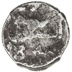 """QALHATI AMIR: Muhammad, 1521-1534, AR """"dirham"""" (1.20g), Jarun, AH932. VG"""