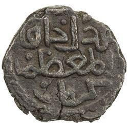 GREAT MONGOLS: temp. Chingiz Khan, 1206-1227, AE jital (2.77g), Kurraman, ND. VF