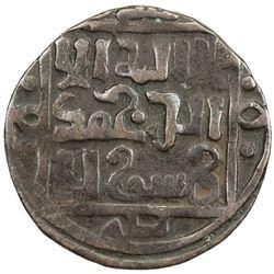 GREAT MONGOLS: temp. Chingiz Khan, 1206-1227, AE jital (3.22g), Qunduz, ND. VF