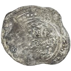 GREAT MONGOLS: Anonymous, ca. 1225-1250, AR dirham (1.12g), Jand, ND. EF