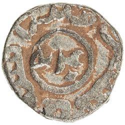 CHAGHATAYID KHANS: temp. Qaidu, 1270-1302, BI jou (3.29g), Ghazna, ND, Zeno-187073, EF