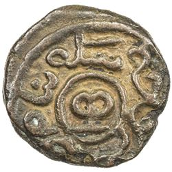 CHAGHATAYID KHANS: Khutlugh Khwaja, 1298-1299, AE jital (2.99g), Baldah Ghazna, ND. VF-EF