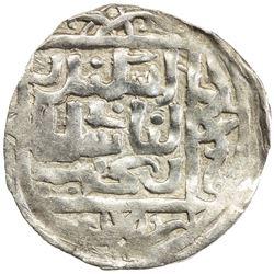 SHAHS OF BADAKHSHAN: Sultan Bakht, ca. 1310-1315, AR dirham (2.42g), Badakhshan, AH711. VF