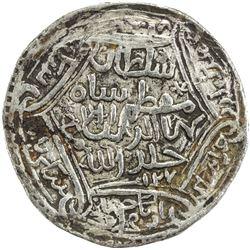 SHAHS OF BADAKHSHAN: Shah Baha al-Din, 1344-1358, AR dinar kebeki (7.8g), Badakhshan, AH761. VF