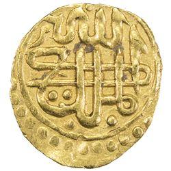SUFID: temp. Sulayman, 1379-1388, AV dinar ( 1/4 mithqal) (1.21g), Khwarizm, AH784. VF