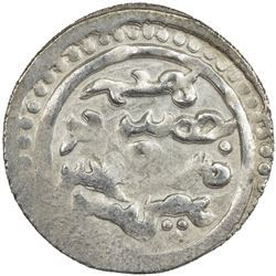 GOLDEN HORDE: Tole Buqa, 1287-1290, AR yarmaq (1.73g), Qrim, ND. AU