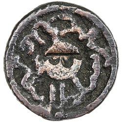 ILKHAN: Uljaytu, 1304-1316, AE fals (3.52g), Sultaniya, AH713. VF