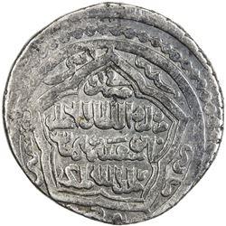 ILKHAN: Abu Sa'id, 1316-1335, AR 6 dirhams (10.60g), Shiraz, AH722. VF