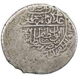 SAFAVID: Isma'il II, 1576-1578, AR 2 shahi (4.51g), Fuman, ND. VF