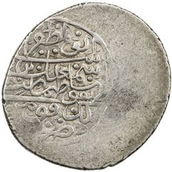 SAFAVID: Isma'il II, 1576-1578, AR 2 shahi (4.64g), Fuman, ND. VF