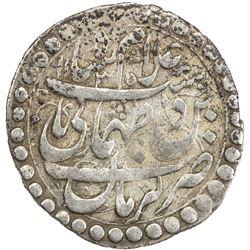 SAFAVID: Tahmasp II, 1722-1732, AR abbasi (5.37g), Kirman, AH1135. VF