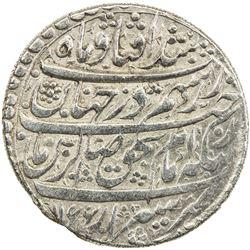 ZAND: Karim Khan, 1753-1779, AR abbasi (4.64g), Shiraz, AH1166. VF-EF