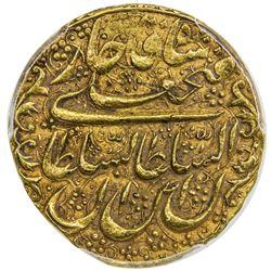QAJAR: Fath 'Ali Shah, 1797-1834, AV toman, Isfahan, AH1228. PCGS AU58