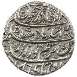 DURRANI: Ahmad Shah, 1747-1772, AR rupee (11.28g), Dera, AH1166 year 5. EF