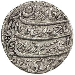 DURRANI: Ahmad Shah, 1747-1772, AR rupee (11.16g), Shahjahanabad, AH1170 year 11. VF