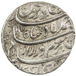 DURRANI: Ahmad Shah, 1747-1772, AR rupee (11.47g), Shahjahanabad (Delhi), AH1170 year 11. EF