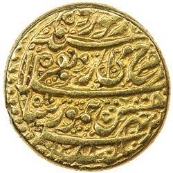 DURRANI: Taimur Shah, 1772-1793, AV mohur (10.85g), Herat, AH1208//1201. VF