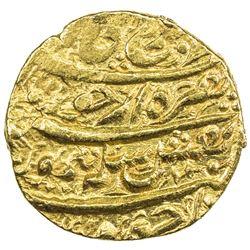 DURRANI: Taimur Shah, 1772-1793, AV mohur (10.97g), Kabul, year 8. EF