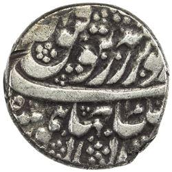 DURRANI: Taimur Shah, 1772-1793, AR rupee (11.34g), Mashhad, AH1208. VF