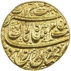 DURRANI: Shah Zaman, 1793-1801, AV mohur (10.87g), Ahmadshahi, AH1209. AU